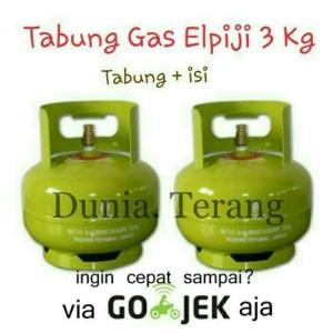 Harga tabung gas 3kg 3 kg baru isi full khusus gosend amp | HARGALOKA.COM