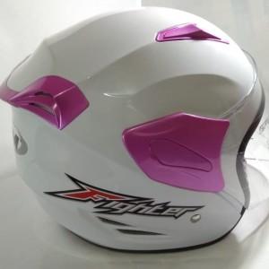 Katalog Helm Gm Fighter Solid Hitam Doff Half Face Katalog.or.id