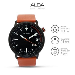 Harga jam tangan pria alba signa quartz leather ag8j99 | HARGALOKA.COM