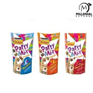 Harga Snack Kucing Party Mix Friskies 60gr Cemilan Kucing Katalog.or.id