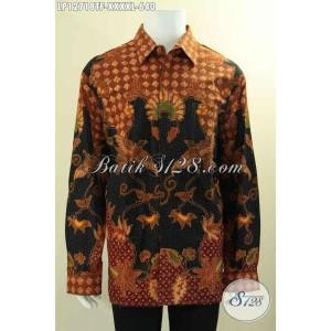 Harga baju batik tulis pria gemuk sekali panjang furing size xxxxl | HARGALOKA.COM
