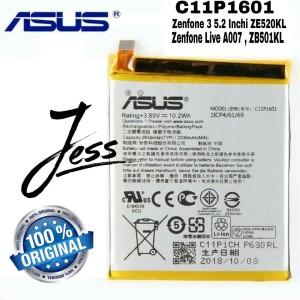 Harga baterai battery original asus zenfone 3 5 2 inchi ze520kl   HARGALOKA.COM