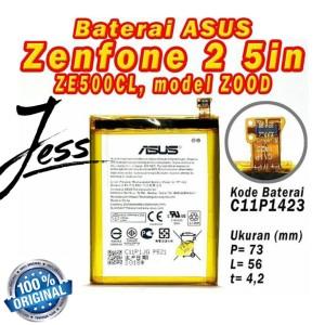 Harga baterai battery original asus zenfone 2 ze500cl z00d   HARGALOKA.COM