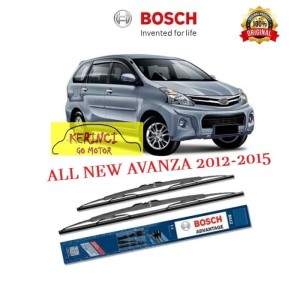 Katalog Bosch Sepasang Wiper Mobil New Toyota Avanza Frameless Clear 21 14 Katalog.or.id