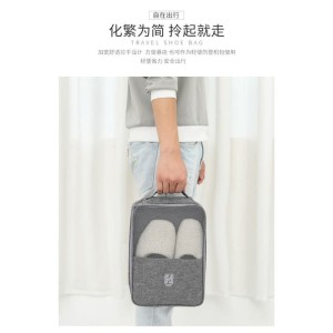 Harga tas sepatu travel shoe bag dengan pengait koper model minimalis   HARGALOKA.COM
