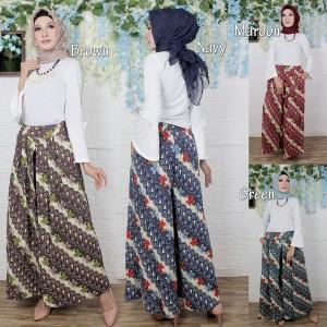Harga celana kulot batik 2910   | HARGALOKA.COM
