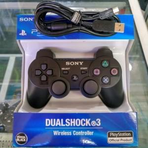Harga stik stick ps3 wireless controller op kabel usb vaio   | HARGALOKA.COM