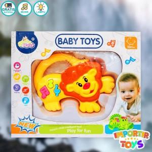 Harga singa lucu teman anak bayi untuk bernyanyi | HARGALOKA.COM