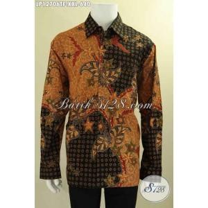 Harga baju batik solo pria gemuk eksklusif panjang tulis size xxl | HARGALOKA.COM