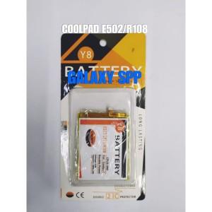 Harga batre baterai batere double power y8 coolpad e502 | HARGALOKA.COM