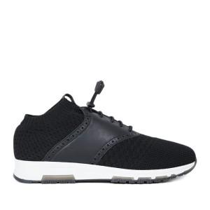 Harga ftale footwear   rhobert black sepatu sneakers murah     HARGALOKA.COM