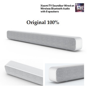 Harga xiaomi mi tv soundbar wired amp wireless bluetooth audio with 8 | HARGALOKA.COM