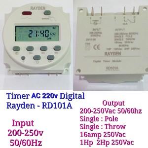 Harga digital timer 16a ac pln 220v kontrol listrik pln 220v dc cn101a   tanpa | HARGALOKA.COM