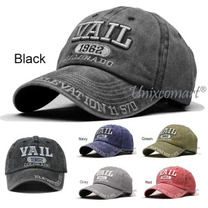 Harga vail colorado topi baseball hat cap casual sport pria wanita distro   | HARGALOKA.COM