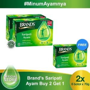 Harga buy 2 free 1 brand 39 s saripati ayam original 70 | HARGALOKA.COM