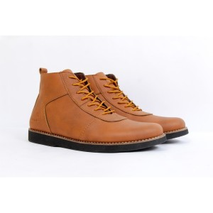 Harga sepatu brodo casual ifroon pria 100 original   hitam   HARGALOKA.COM