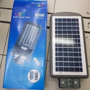 Harga lampu jalan solar led 60w lampu all in one solar street | HARGALOKA.COM