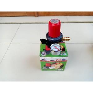 Harga regulator kompor gas win gas w181m regulator gas tekanan tinggi | HARGALOKA.COM