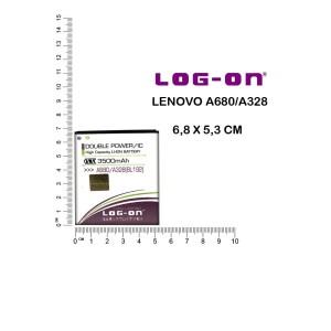 Harga baterai lenovo a680 a328 double power merk log on | HARGALOKA.COM