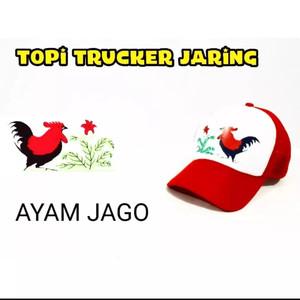 Harga obral topi trucker distro mangkok ayam jago | HARGALOKA.COM