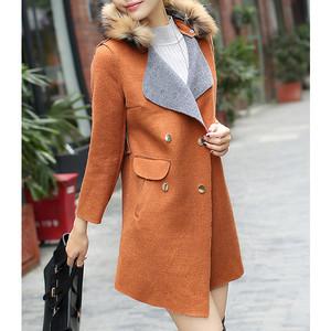 Harga baju outer wool musim dingin coat wanita korea baju hoodie | HARGALOKA.COM