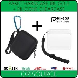 Harga paket hardcase silicone case untuk speaker bluetooth jbl go | HARGALOKA.COM