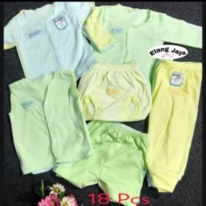 Harga 18pcs paket baju bayi baru | HARGALOKA.COM