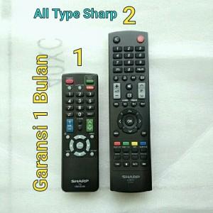 Harga remot remote tv sharp original led lcd tabung asli | HARGALOKA.COM