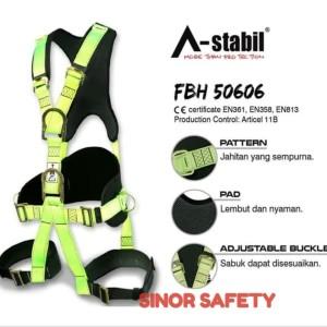 Harga full body harness astabil 50606 safety belt fall protection sabuk   HARGALOKA.COM