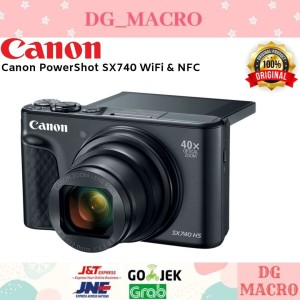 Harga canon powershot sx740 hs   camera pokcet   garansi resmi | HARGALOKA.COM