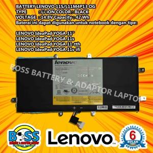 Harga baterai batre battery 100 original lenovo ideapad yoga11 yoga11s | HARGALOKA.COM