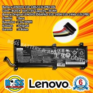 Harga baterai 100 original lenovo ideapad 310 14isk l15l2pb2 | HARGALOKA.COM