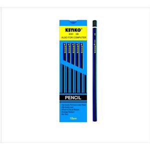 Harga grosir pensil kayu 2b kenko 6161 atk murah perlusin pcs | HARGALOKA.COM
