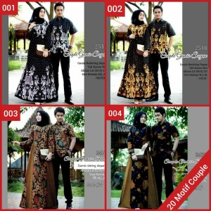 Harga batik couple gamis couple gamis batik keluarga gamis | HARGALOKA.COM