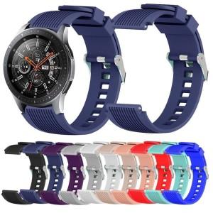 Harga strap jam tangan samsung galaxy 46mm amp huawei gt gt2 silicone | HARGALOKA.COM