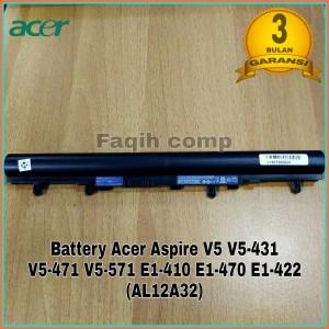 Harga baterai batre original laptop acer aspire e14 es1 411 e1 410 | HARGALOKA.COM