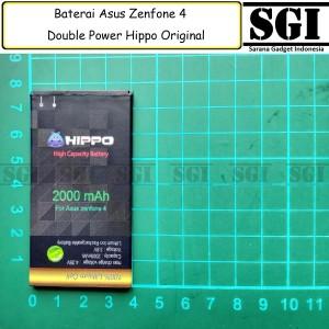 Harga baterai hippo double power original asus zenfone 4 a400cg batre | HARGALOKA.COM