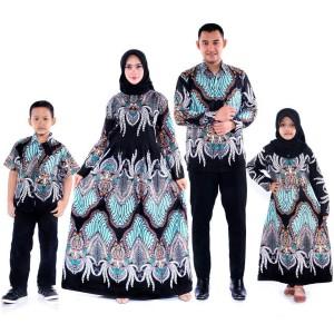 Harga batik couple mama papa dan anak couple keluarga baju batik ayah | HARGALOKA.COM