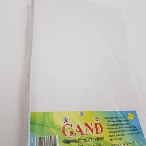 Harga gand amplop folio putih hvs 100gr seal kirim pakai jne or jt | HARGALOKA.COM