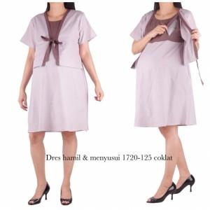 Harga baju hamil dress hamil dan menyusui 1720 | HARGALOKA.COM