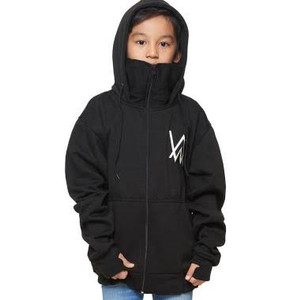 Harga jaket anak hoodie ninja alan walker 4 14 tahun   hitam | HARGALOKA.COM