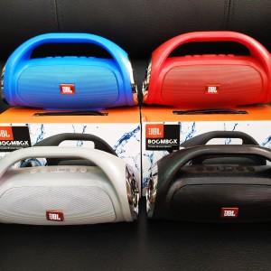 Harga speaker jbl boombox speaker portable bluetooh wireless boombox high pw   | HARGALOKA.COM