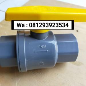 Harga Ball Valve Pvcbv 1 2 Onda Polos Stop Kran Plastik Pvc Kuning 1 2 Katalog.or.id