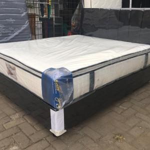 Harga kasur spring bed full set uk 180x200 kasur pillow top free   HARGALOKA.COM