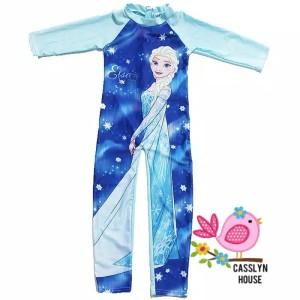 Harga baju renang frozen elsa lengan panjang   size l   HARGALOKA.COM