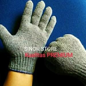 Info Sarung Tangan Kain Rajut Industri Benang 5 Abu 1 Lusin Katalog.or.id