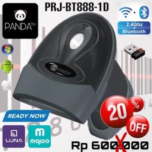 Harga panda prj bt888 1d wereless laser barcode scanner bluetooth 2 4g | HARGALOKA.COM