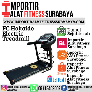 Harga treadmill elektrik fc hokaido 4 f alat olahraga fitnes lari | HARGALOKA.COM