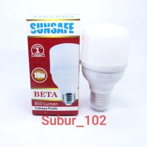Harga lampu led sunsafe beta 10w garansi murah bagus bergaransi | HARGALOKA.COM