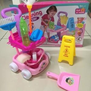 Harga mainan sapu pel alat kebersihan   cleaning set mainan alat   HARGALOKA.COM